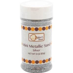 Mini Metallic Sand - Silver