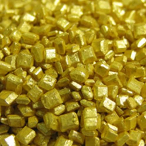 Sprinkles - Mini Metallic Sand - Gold