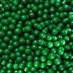 Sprinkles- Jumbo Beads - Green