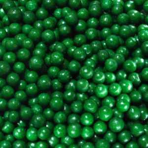 Sprinkles- Jumbo Beads - Green