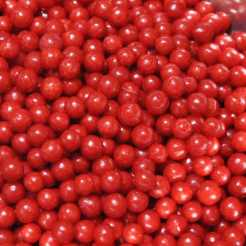 Sprinkles- Jumbo Beads - Red