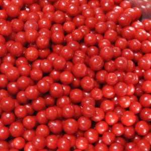 Sprinkles- Jumbo Beads - Red